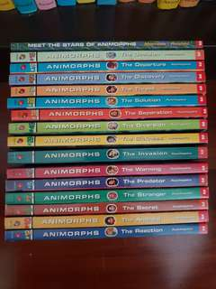 16 FOR RM25 ANIMORPHS COLLECTION