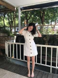🚚 Zara復古澎澎袖洋裝