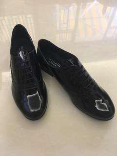 Minelli Black Oxford Shoes 黑色漆皮牛津鞋