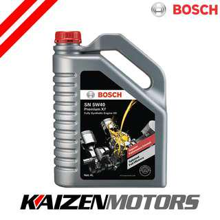 Bosch Lubricant SN 5W40 Premium X7 Engine Oil 4L