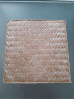 NEW! ITALY Designer Bamboo Weave Mats for Home Decor ❤ Large