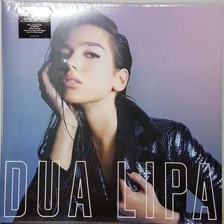Vinyl LP : Dua Lipa - Dua Lipa (Pink Marbled Translucent Vinyl)