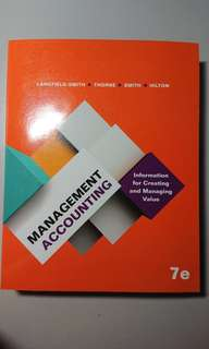 Management Accounting: Information for Creating and Managing Value 7e