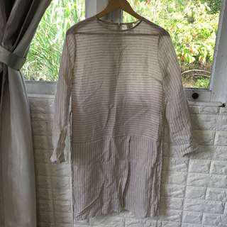 Uniqlo hana tajima tunic blouse