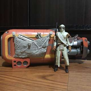 Star Wars Rey Speeder
