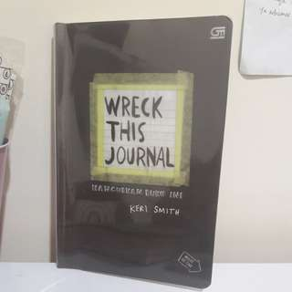 🥀WRECK THIS JOURNAL