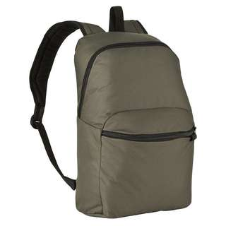 Unisex olive green backpack