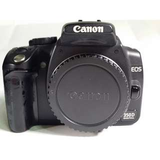 Canon EOS 350D 背帶 充電器 包包 電池2個 CF記憶卡 (CB081)