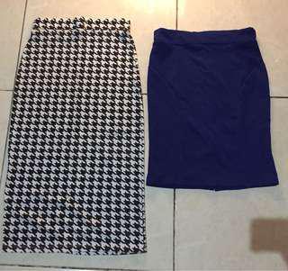 New! Sisa butik! Skirt mini and midi