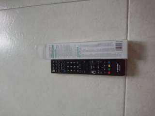 Sharp led lcd tv remote controller