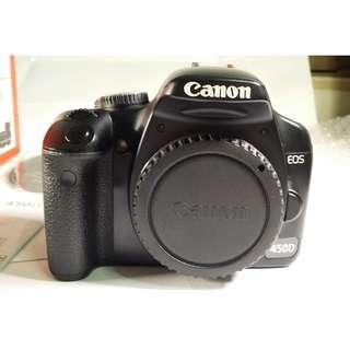 Canon EOS 450D 盒裝  背帶 充電器 線材 光碟 說明書 鋰電池*1 公 (CB082)