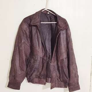 Brown Authentic Leather Jacket