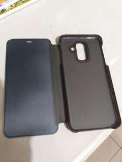 Jual casing samsung A6+ black only