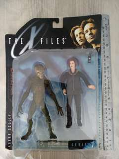 X file figures collected back in 90s