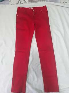 Authentic Mango Red pants
