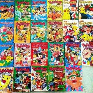 🚚 Pokemon Assorted Comics