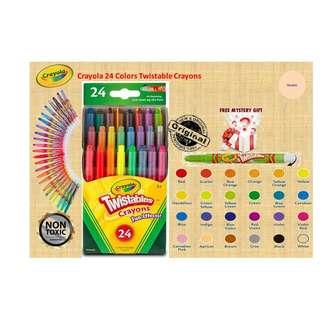 Crayola 24 ct Twistable Crayons ( 24 Colors )