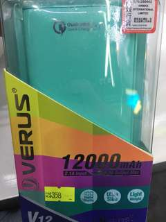 Verus 12000mah Power Bank