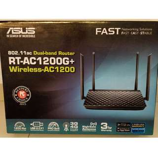 Used Asus RT-AC1200G+ WiFi router