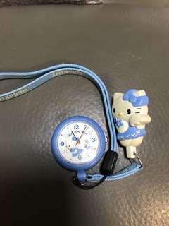 Sanrio Hello Kitty 䓀蒂掛錶watch