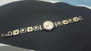 Swatch Watch Ladies Swiss Chessboard