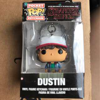 "Stranger Things Vinyl Figure - ""Dustin"" Pocket Pop Keychain"