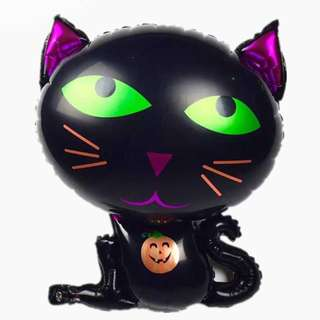 Balloon Halloween black cat