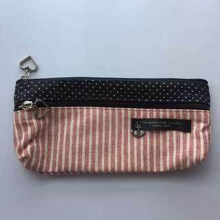 粉紅色海軍筆袋