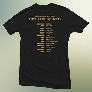 WTB Wanna One World Tour Tshirt / Tee