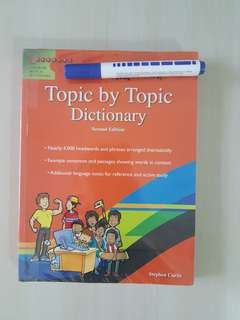 Topic by topic English dictionary-2nd edition