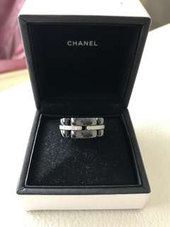 Chanel ultra ring with diamond