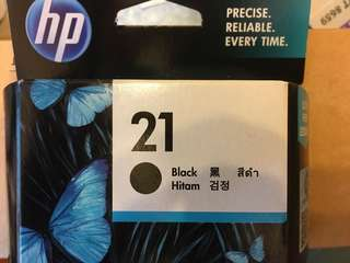 HP 21及22號打印機墨水