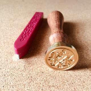 Wax Seal Stamp - Letter N