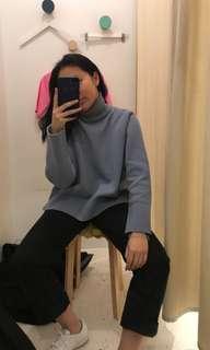 Studio K Blue Turtleneck sweater