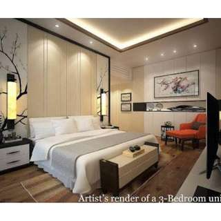 A LUXURY CONDO IN ORTIGAS THE WESTIN SONATA PLACE MANILA 1 BEDROOM WITH BALCONY 75.69 SQM