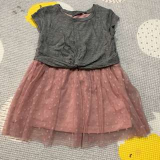 Baby Ballet T-Shirt Tulle Dress