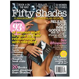 Fifty Shades of Gray magazine