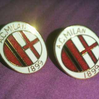 Cufflinks - AC Milan Collectible.