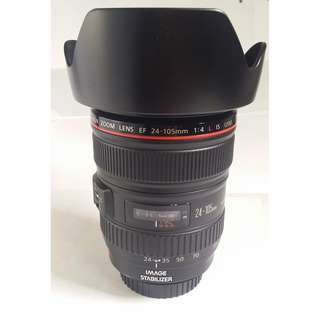 Canon EF 24-105mm F4L IS USM (CL111)