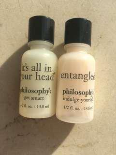Philosophy Gentle Shampoo n Conditioner Set 14.8ml each