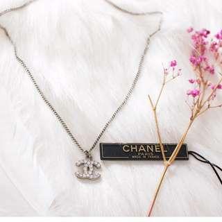 CHANEL 正貨真品 CLASSIC 閃鑽頸鏈 CHANEL 飾物 頸鏈 專門店已斷貨