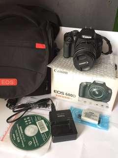 Camera Canon DSLR Eos 600D