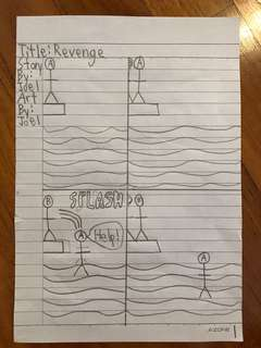 Revenge comic