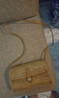 Authentic Rattan Bag from Bali
