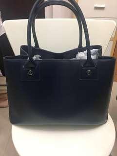 ❤️ Agnes b 真皮手袋(可放A4file) leather bag (有原裝塵袋、防霉紙)