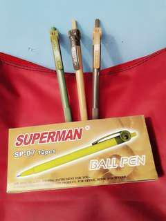 Pulpen SUPERMAN BALL PEN murah!!