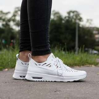Nike Women's Air Max Thea, Leather laser cut, size 8