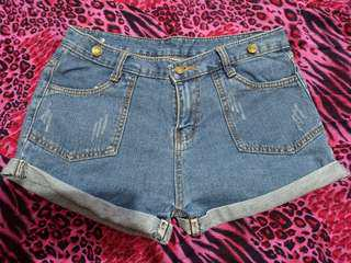 Proloved Maong Shorts 3pcs for Php250