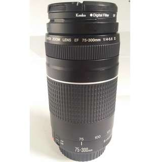 Canon EF 75-300mm f/4-5.6 III  (CL118)