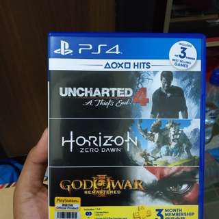 Horizon Zero Dawn x Uncharted 4 - BD PS4